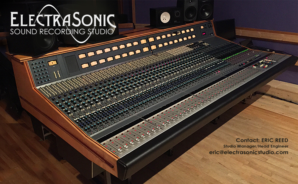 Electrasonic Sound Recording Studio with vintage Neve 8078